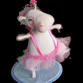 RARE Annalee Hippo Ballerina Tutu Dancing