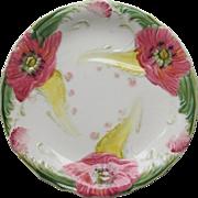 Majolica Plate 1860-1910  France  Hautin and Boulanger  Choisy le Roi
