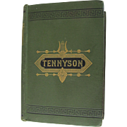 First Edition The Works of Alfred Tennyson London Kegan c,1878