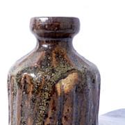 1960s Gustavsberg Stoneware Vase by Stig Lindberg Sweden