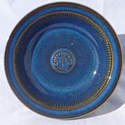 Gustavsberg Sweden Art Pottery Advertising Bowl