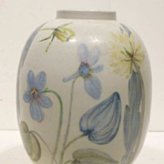Rorstrand Komp Hand Painted Vase by Carl-Harry Stalhane