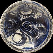 Jan Jones Mid-Century Studio Pottery Bowl