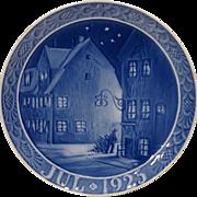 REDUCED 1925 Royal Copenhagen Christmas Plate