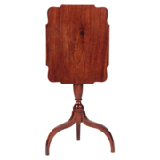 SALE American Antique Candlestand Side Table, Mid-Atlantic States c. 1800