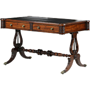 English Antique Writing Desk Table, William IV c. 1830