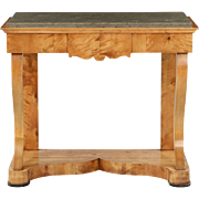 Empire Antique Console Pier Table, Northern Europe c. 1825
