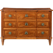 Italian Neoclassical Antique Commode Chest of Drawers, 19th Century