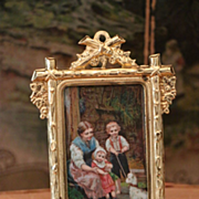 Lovely Miniature Dollhouse Frame by Erhard & Söhne
