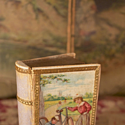 SALE *Sale* Lovely Lithographed Box with Mirror