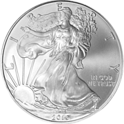 Collectible 2010 US 1 Troy Oz. American Silver Eagle Coin