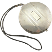 Art Deco Sterling Silver Purse or Compact
