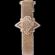 Victorian circa 1880-1890's 14 karat yellow gold tassel bracelet