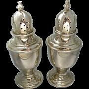 Vintage Newport Sterling silver salt and pepper set.