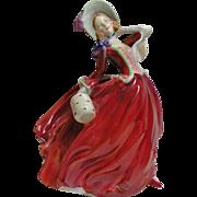 """SALE Royal Dalton vintage figurine """"Autumn breezes"""" 1934"""