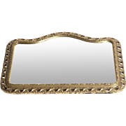 French Gilt Mirror late 19th century