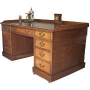 Oak English Desk C1875