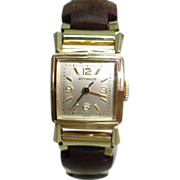 Vintage Ladies Wittnauer Nurses Watch 10 Kt Gold Filled