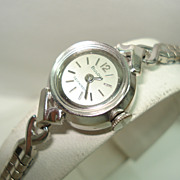 1965 Automatic Ladies 14 Kt White Gold Wristwatch