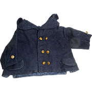 SOLD Old Mariners Jacket For Doll Or Teddy Bear