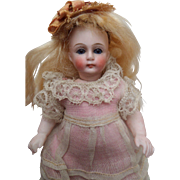SOLD *reserved for D*Jullienn Jeune French All Bisque Doll c1900