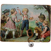 Lovely Antique Musical Box c1890