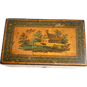 Small Tunbridge Ware Writing Box c1830