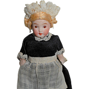SOLD All Bisque German Dolls House Doll c1915