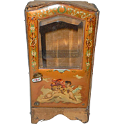 French Sedan Chair With Cherub Decoration c1900