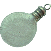 Tiny Chatelaine Perfume Bottle c1880
