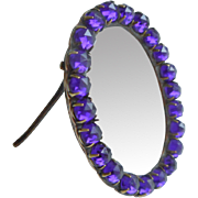 Small Purple Stone Set Frame c1890