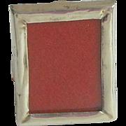 Tiniest Antique Silver Frame Hallmarked 1900