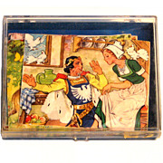 Original German Hermann Einhhorn Puzzle Block set
