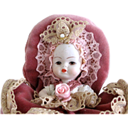Adorable Vintage Bisque Baby Doll