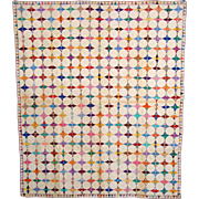 Four Pointed Star with  Octagon Quilt  c1940