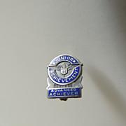 SALE Junior Achievement Sterling Silver Pin