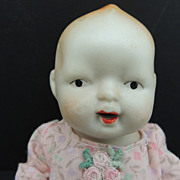 """Bisque 7"""" Doll From Japan"""