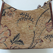 Liz Claiborne Damask Fabric Purse
