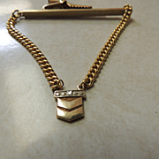 O. C. Tanner Chevron Tie Clasp Bar