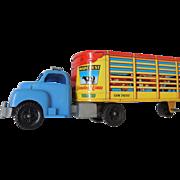 Marx Truck And Livestock Trailer