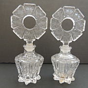 2 Irice Perfume Bottles