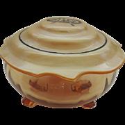 Cambridge Glass Vanity Jar