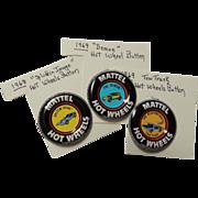 Mattel Hot Wheels Red Line Badges