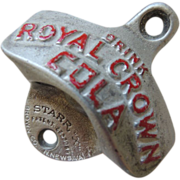 SOLD Vintage Royal Crown Cola Bottle Opener