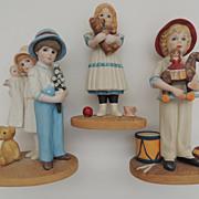 Three Jan Hagara Figurines