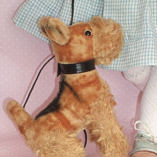 c1950's to 1960's Schnauzer Dog for your German Doll