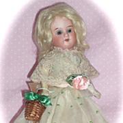 """SALE Precious Little 7.5"""" Flapper Doll in Original Costume"""
