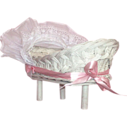 Adorable Little Crib for your Composition or Bisque Dolls