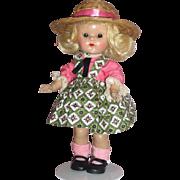 Vogue Ginny Doll in Medford tagged Dress