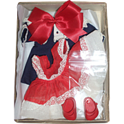 SOLD Boxed - Vogue Ginny Outfit with Bonus Jacket and Hair Bow
